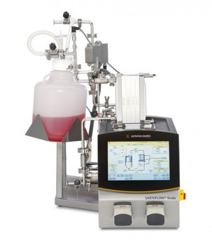 Новая компактная система кросс-флоу фильтрации SARTOFLOW® Study